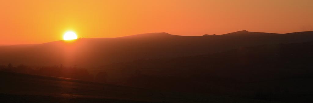 Haytor sunset